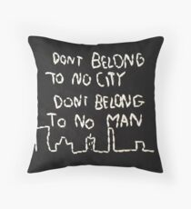 halsey lyrics Throw Pillow