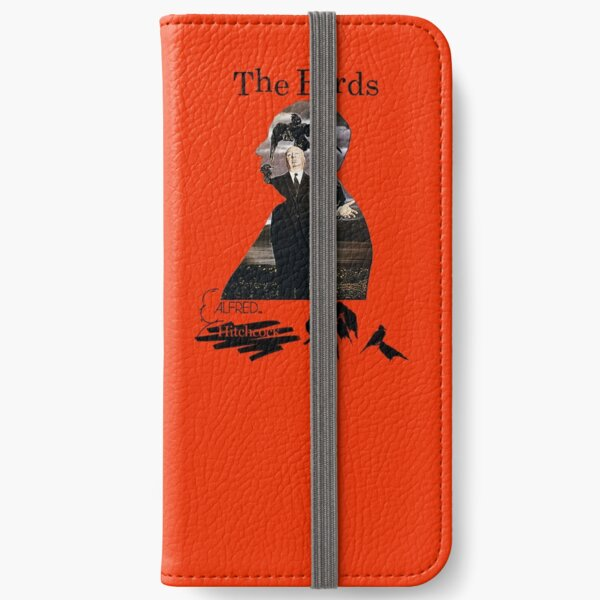 Alfred Hitchcock - The Birds (Orange Version) iPhone Wallet