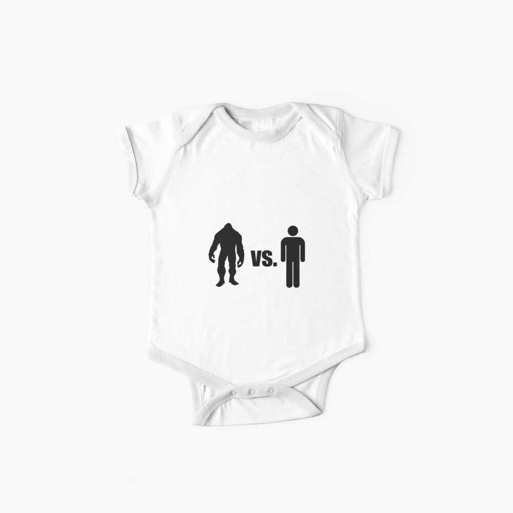 Bigfoot VS Mensch Baby Body