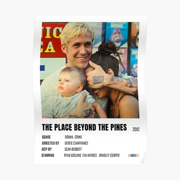 Affiche minimaliste The Place Beyond the Pines Poster