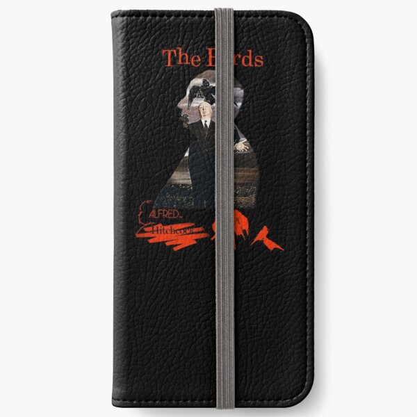 Alfred Hitchcock - The Birds (Black Version) iPhone Wallet