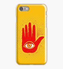 Hand and eye iPhone Case/Skin