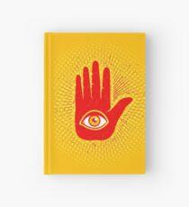 Hand und Auge Notizbuch