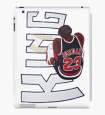 King Jordan iPad Case/Skin