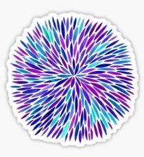 Lavender Burst Sticker