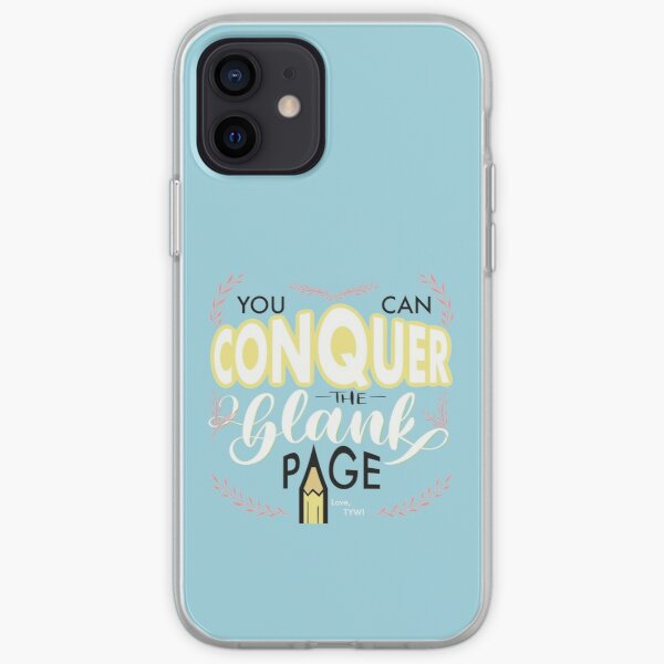 Conquer the Blank Page iPhone Soft Case