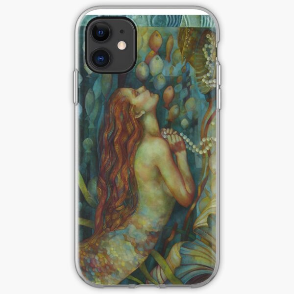 necklace of pearls iPhone Soft Case