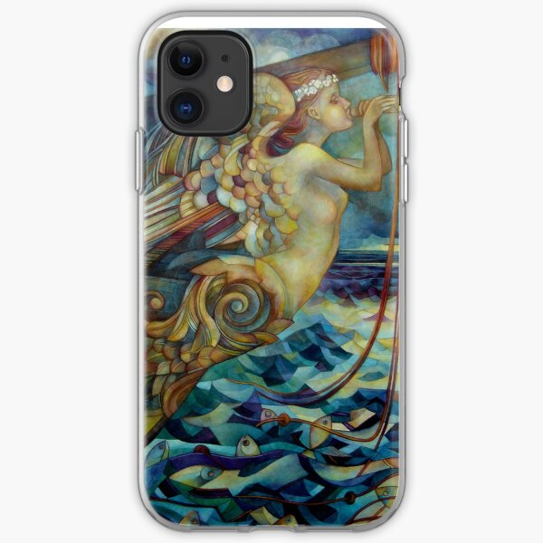 figurehead or ... fishing iPhone Soft Case