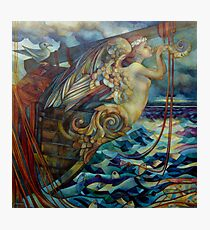 figurehead or ... fishing Photographic Print