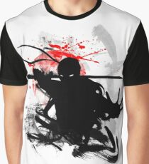 Japanese Ninja Graphic T-Shirt