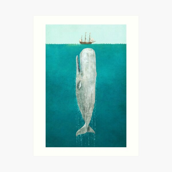 The Whale - Full Length  Art Print