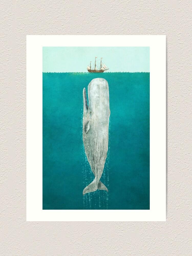Alternate view of The Whale - Full Length  Art Print