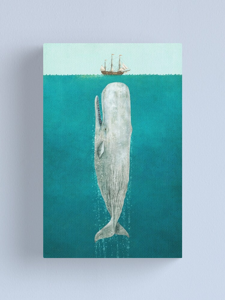 Alternate view of The Whale - Full Length  Canvas Print