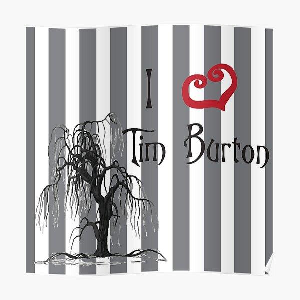 Amo a Tim Burton Póster