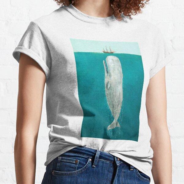 La baleine - pleine longueur T-shirt classique