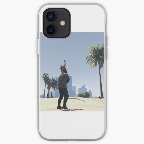 gta v Funda blanda para iPhone