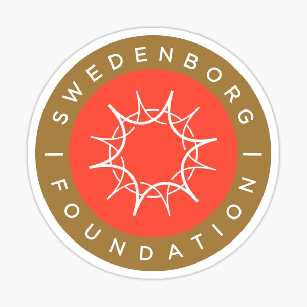 "Swedenborg Foundation ""Crest"" Logo Sticker"