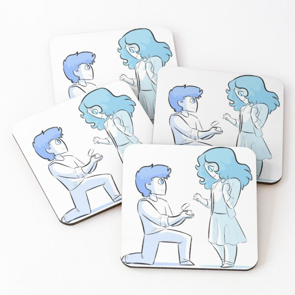 Overly Sarcastic - Marry Me Coasters (Set of 4)