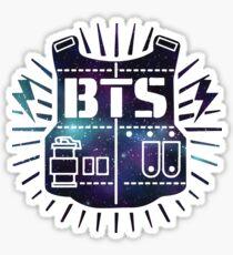 BTS Bulletproof Galaxy Sticker