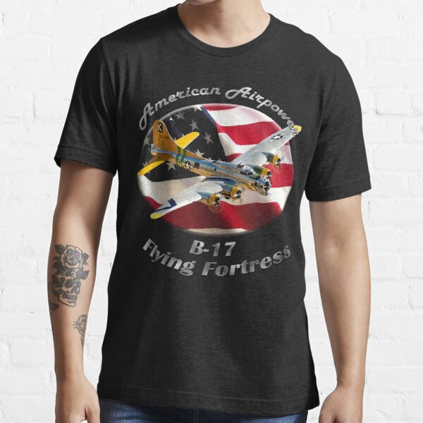 B-17 Flying Fortress American Airpower Essential T-Shirt