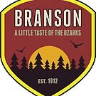 BRANSON MISSOURI A LITTLE TASTE OF THE OZARKS OZARK MOUNTAINS MOUNTAIN by MyHandmadeSigns