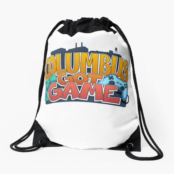 Columbus Got Game Drawstring Bag
