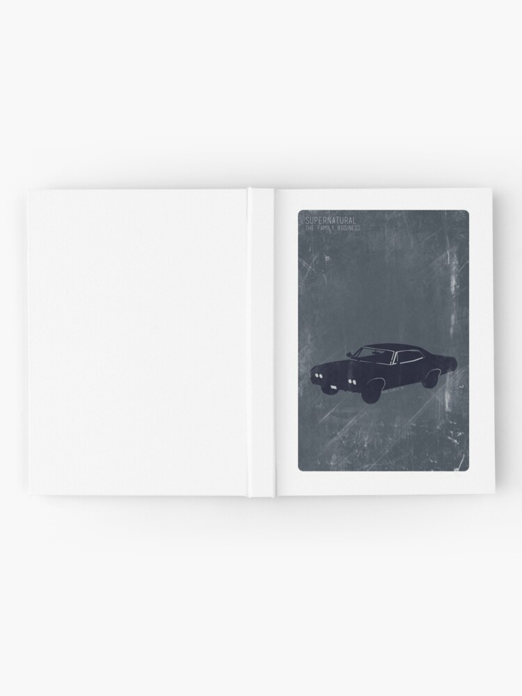 Alternate view of Supernatural Minimalist Hardcover Journal