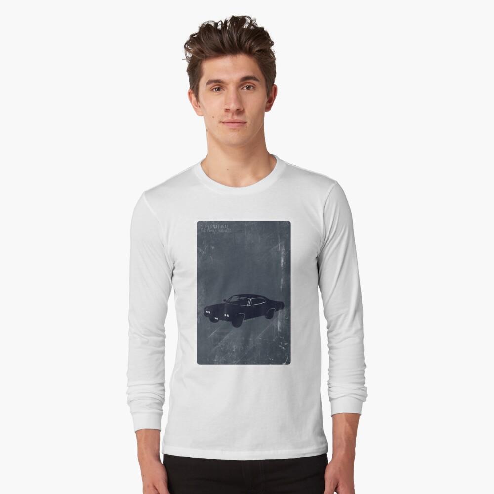 Supernatural Minimalist Long Sleeve T-Shirt