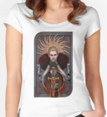 Commander Tarot Women's Fitted Scoop T-Shirt