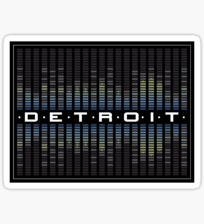 Detroit Sound Sticker