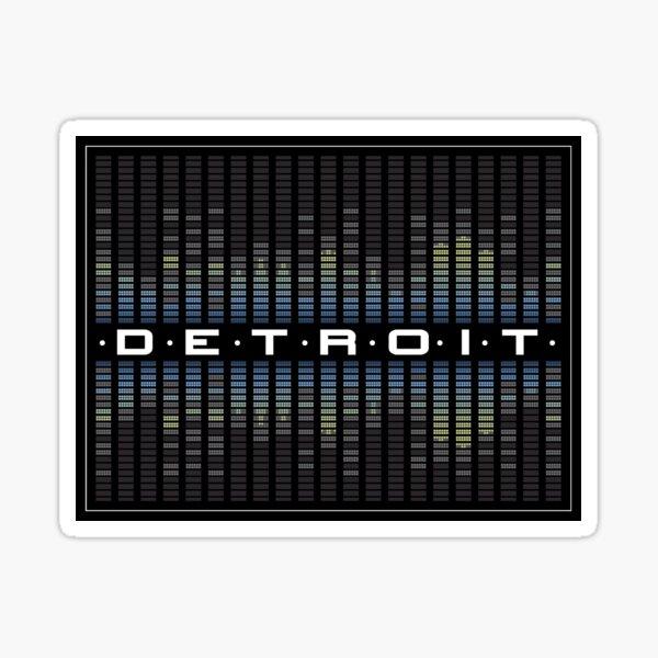 Detroit Sound Sticker
