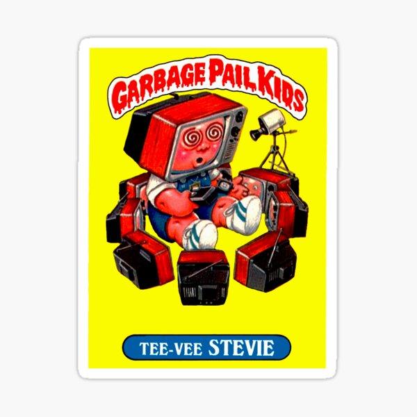tee-vee stevie Garbage Pail Kids Sticker