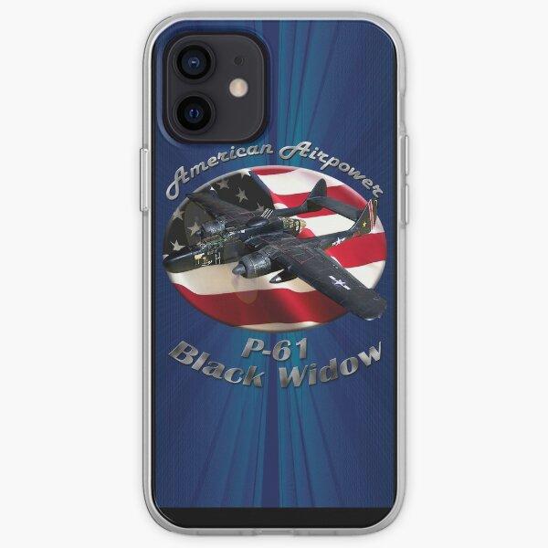 P-61 Black Widow American Airpower iPhone Soft Case