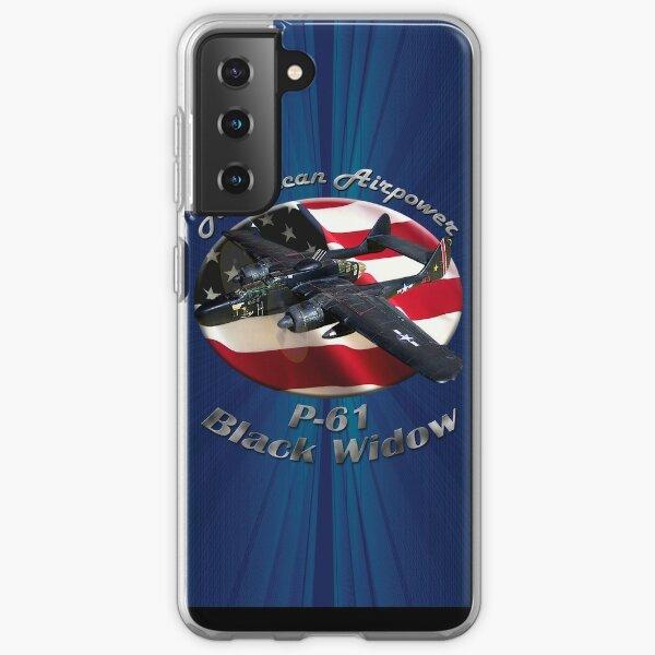 P-61 Black Widow American Airpower Samsung Galaxy Soft Case