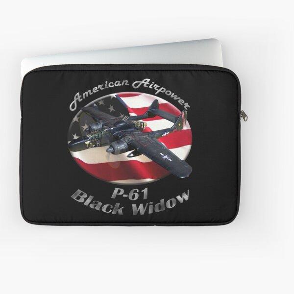 P-61 Black Widow American Airpower Laptop Sleeve