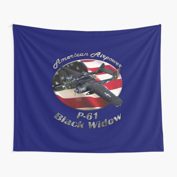P-61 Black Widow American Airpower Tapestry