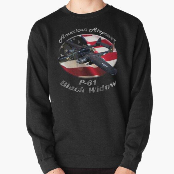 P-61 Black Widow American Airpower Pullover Sweatshirt