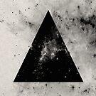 Triangular Universe by Printpix