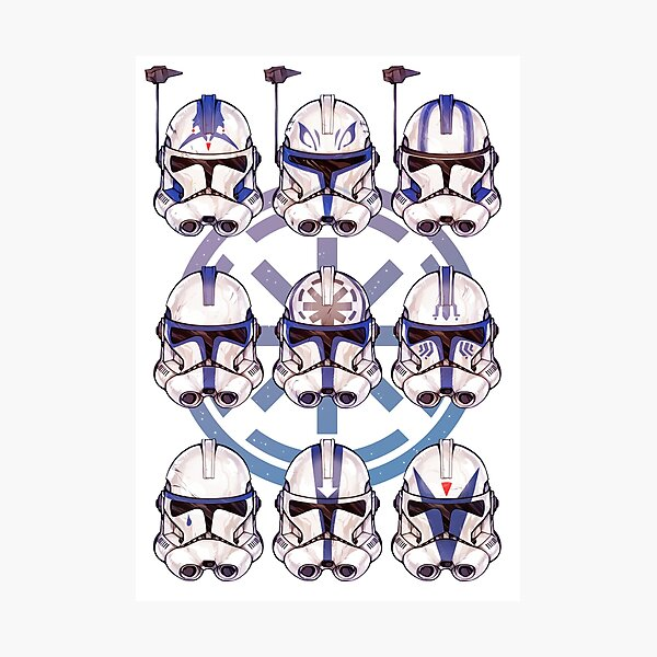 501st 9-pack Photographic Print