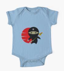 Ninja Star - Darker Version Kids Clothes