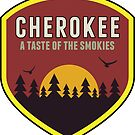 CHEROKEE NORTH CAROLINA MOUNTAIN SMOKIES SMOKY MOUNTAINS by MyHandmadeSigns