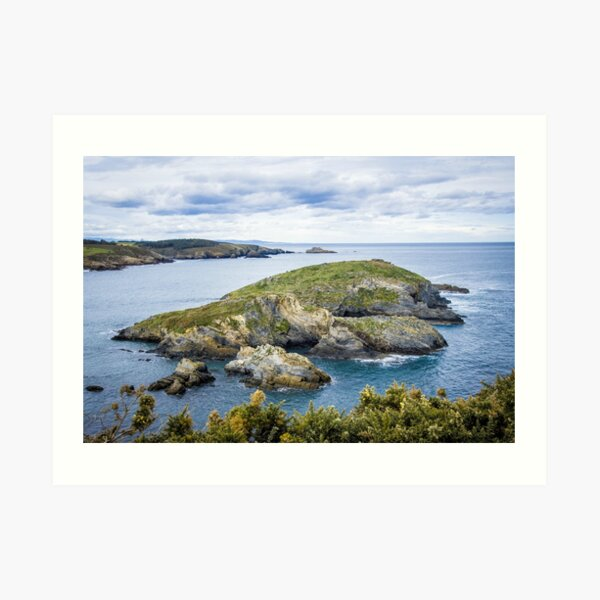 Cliffs and Rocks Art Print