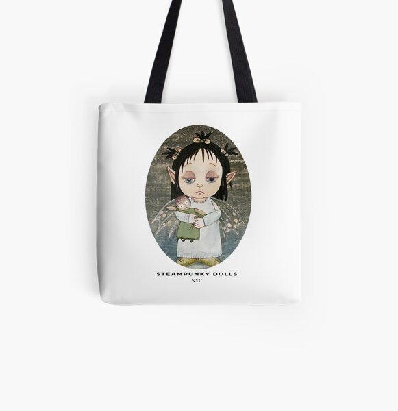 Bedtime Fairy in colors All Over Print Tote Bag