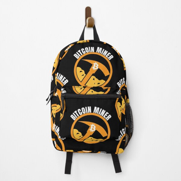 Cryptocurrency Backpack Cryptocurrency Gift Cryptocurrency Crypto Backpack Stellar Lumens School Backpack Backpack Cryptocurrency Art