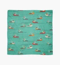 Fishing Trawlers on The Thames Estuary Scarf