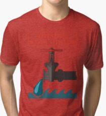 Faucet Tri-blend T-Shirt