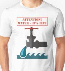 Faucet Unisex T-Shirt