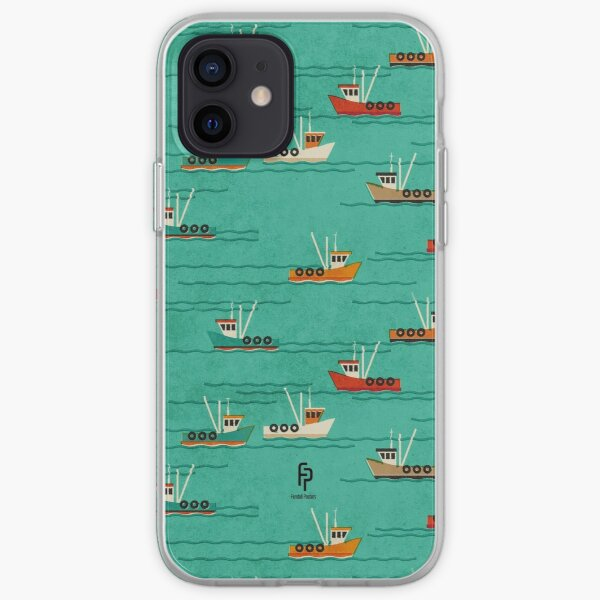 Fishing Trawlers on The Thames Estuary iPhone Soft Case