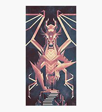 Luminescent Dragon Photographic Print