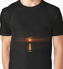 Black sunset Graphic T-Shirt